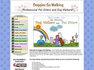 Doggies Go Walking Hollywood