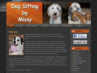 Dog Sitting by Missy Hollywood