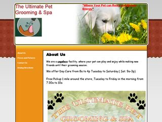 Ultimate Pet Grooming   Spa | Boarding