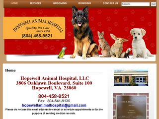 Hopewell Animal Hospital | Boarding