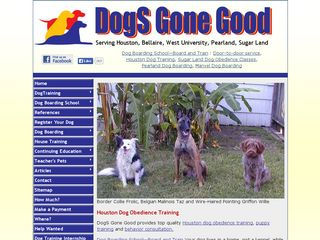 DogS Gone Good | Boarding