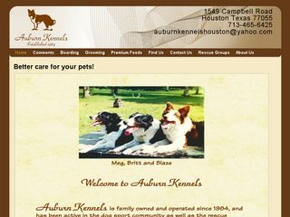 Auburn Kennels Houston