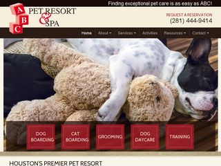 ABC Pet Resort & Spa | Boarding