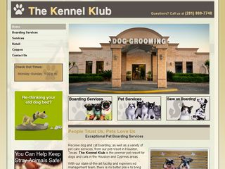 The Kennel Klub | Boarding