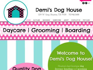 Demis Dog House | Boarding