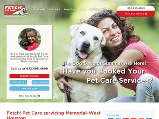 Fetch! Pet Care Houston Houston
