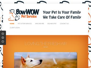 Bow Wow Pet Service | Boarding