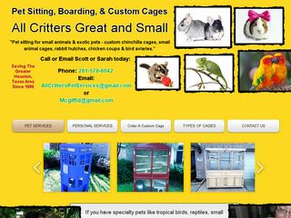 All Critters Great and Small | Boarding