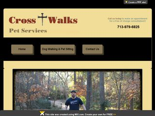 Cross Walks Pet Services Houston