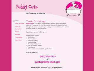 Puddy Cuts Dog Grooming Boarding Houston