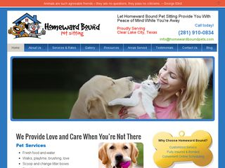 Homeward Bound Pet Care Services Houston