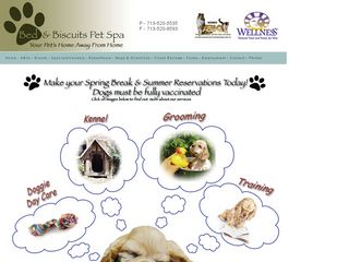 Bed and Biscuits Pet Spa | Boarding