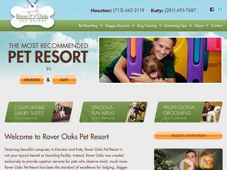 Rover Oaks Pet Resort Houston