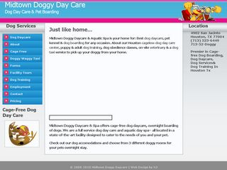 Midtown Doggy Daycare   Aquatic Spa Houston