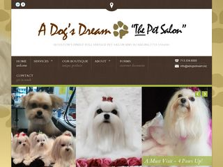 A Dogs Dream Pet Salon in Houston | Boarding