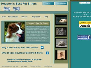 Houstons Best Pet Sitters | Boarding