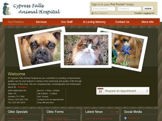 Cypress Falls Animal Hospital Houston