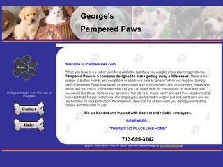Georges Pampered PAWS Inc. | Boarding