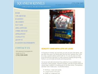 Squankum Boarding Kennels Howell