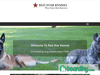 Red Star Kennel | Boarding