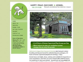 Happy Paws Daycare Kennel Huntersville