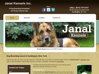 Janal Kennels Incorporated Huntington
