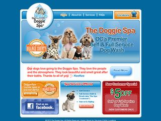The Doggie Spa | Boarding