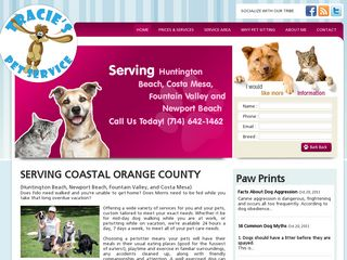 Tracies Pet Service Huntington Beach