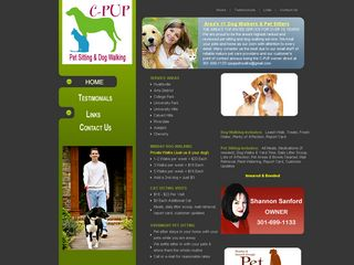 C PUP Pet Walks Hyattsville