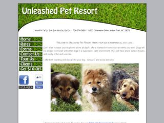 Unleashed Pet Resort Indian Trail