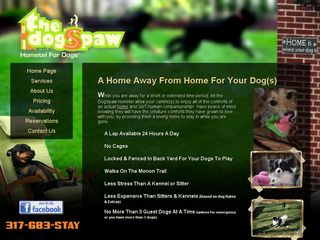 DogSpaw Hometel for Dogs Indianapolis