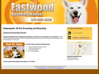Eastwood Boarding Kennel Indianapolis