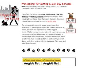 Happytails Pet Sitting Indianapolis