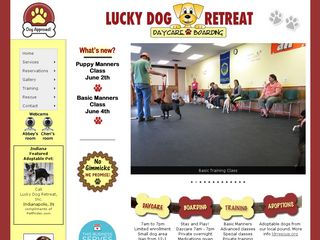 Lucky Dog Retreat | Boarding