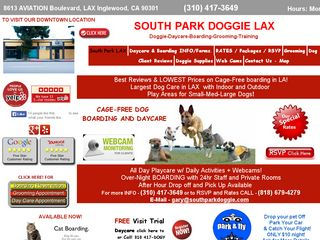 South Park Doggie LAX Boarding and Daycare | Boarding