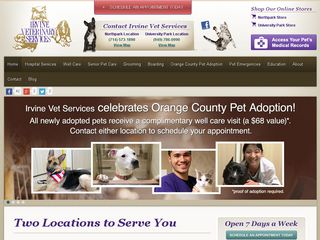 Irvine Veterinary Services Irvine
