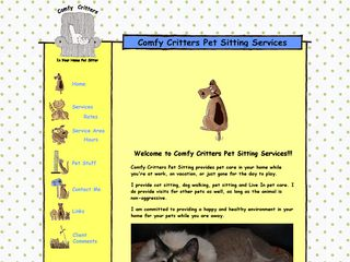 Comfy Critters Pet Sitting | Boarding
