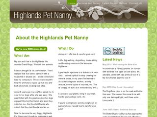 Highlands Pet Nanny | Boarding