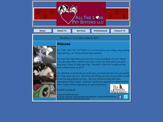 All the Love Pet Sitters LLC | Boarding
