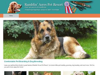 Ramblin Acre Kennels | Boarding
