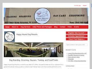 Happy Hound Dog Resorts | Boarding