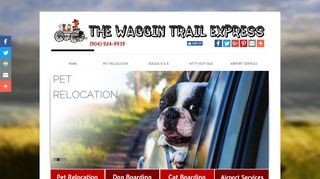 The Waggin Trail Express LLC | Boarding