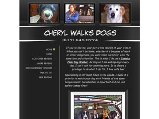 Cheryl Walks Dogs | Boarding
