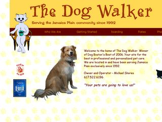 The Dog Walker | Boarding