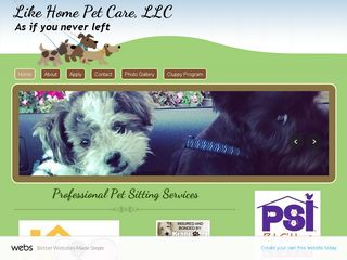 Like Home Pet Care LLC | Boarding