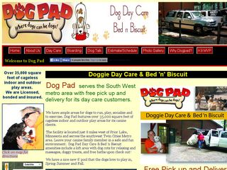 Dog Pad | Boarding