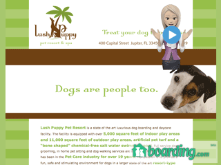Lush Puppy Pet Resort Jupiter