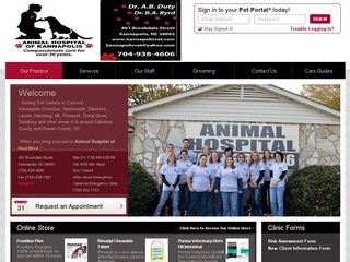 Animal Hospital of Kannapolis | Boarding