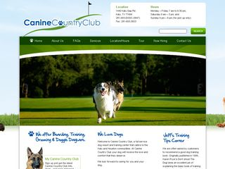 Canine Country Club Katy