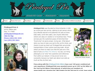 Privileged Pets LLC | Boarding